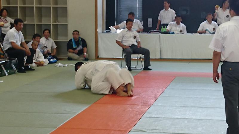 柔道県大会三位決定戦